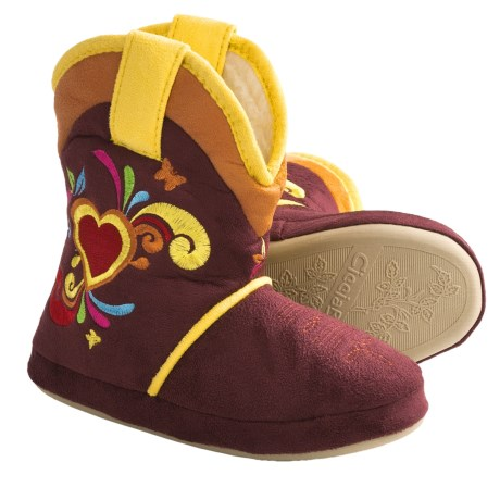 CicciaBella Young Riders Starburst Boots - Slippers (For Little Girls)