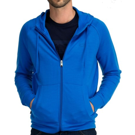 Icebreaker Quattro Hoodie - Merino Wool, Full Zip (For Men)