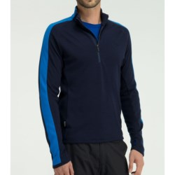 Icebreaker Polaris Shirt - Merino Wool, Zip Neck, Long Sleeve (For Men)