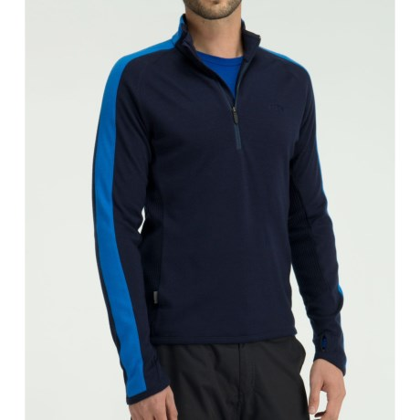 Icebreaker Polaris Shirt - Merino Wool, Zip Neck, Long Sleeve (For Men)