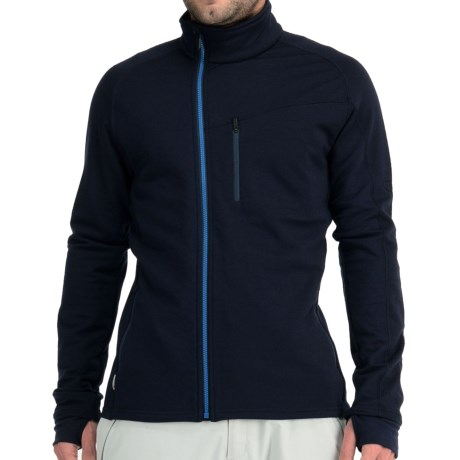 Icebreaker Carve GT 320 Zip Shirt - UPF 40+, Merino Wool, Long Sleeve (For Men)