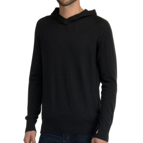 Icebreaker Aries Hooded Shirt - Merino Wool, Long Sleeve (For Men)