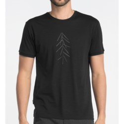 Icebreaker Tech T Lite Lancewood T-Shirt - Merino Wool, Short Sleeve (For Men)