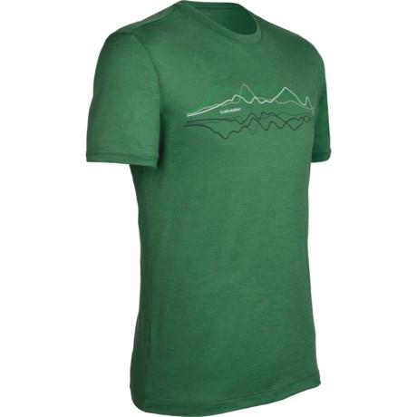 Icebreaker Tech T Lite T-Shirt - Merino Wool, Short Sleeve (For Men)