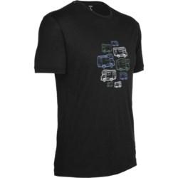 Icebreaker Camper Tech T Lite T-Shirt - Merino Wool, Short Sleeve (For Men)