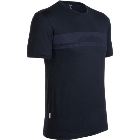 Icebreaker Tech T Lite Alps T-Shirt - Merino Wool, Short Sleeve (For Men)