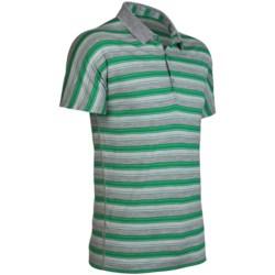 Icebreaker Tech Stripe Polo Shirt - Merino Wool, Short Sleeve (For Men)