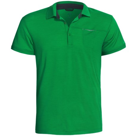 Icebreaker Quattro Polo Shirt - Merino Wool, Short Sleeve (For Men)