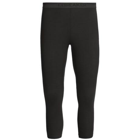 Icebreaker BodyFit 200 3/4 Leggings - Merino Wool (For Men)