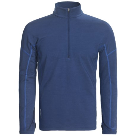 Icebreaker Chase Base Layer Top - Merino Wool, Zip Neck, Long Sleeve (For Men)
