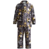 Global Flannel Pajamas - Long Sleeve (For Youth Boys)
