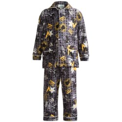 Global Flannel Pajamas - Long Sleeve (For Infant Boys)