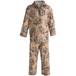 Global Flannel Pajamas - Long Sleeve (For Little Girls)