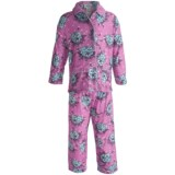 Global Flannel Pajamas - Long Sleeve (For Youth Girls)