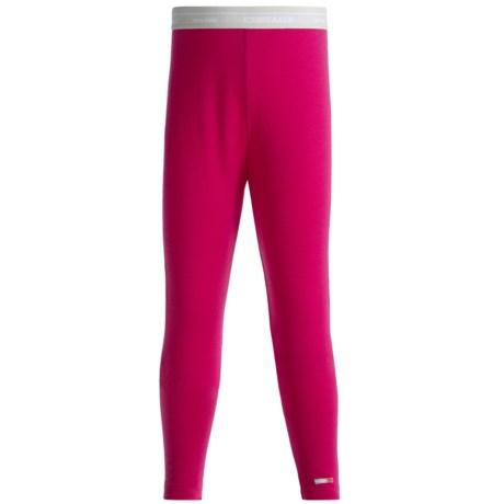 Icebreaker Bodyfit 260 Leggings - Merino Wool, UPF 39+ (For Girls)