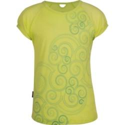 Icebreaker Starlet T-Shirt - UPF 39+, Merino Wool, Short Sleeve (For Girls)