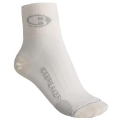 Icebreaker Ultralite Bike/Run Mini-Socks - Merino Wool, Pack of 3 (For Women)