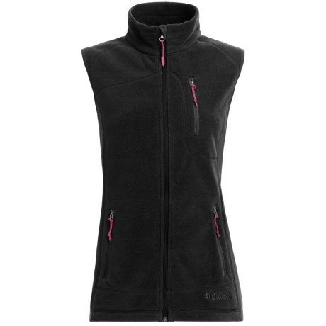 Double Diamond Sportswear Bristol Fleece Vest (For Women)