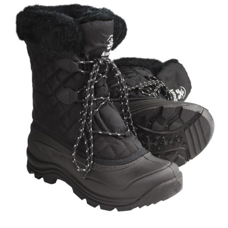 Kamik Mount Snow Boots - Waterproof, Insulated (For Women)