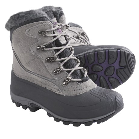 Kamik Lake Louise Winter Boots - Suede, Waterproof, Insulated (For Women)