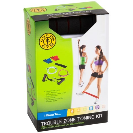 Gold's Gym Gold's Gym Trouble Zone Toning Kit (For Women)