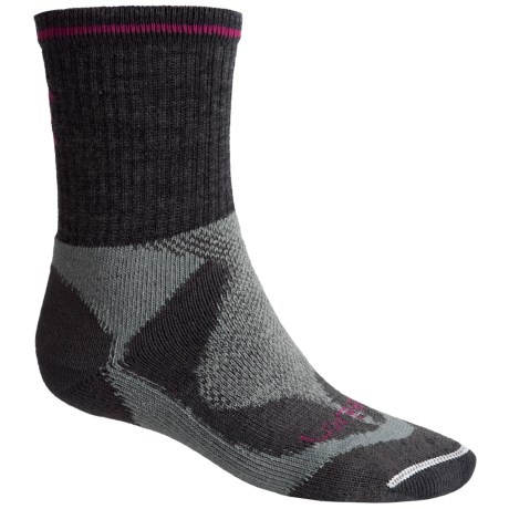 Lorpen Tri-Layer Hiker Socks - PrimaLoft®-Merino Wool, Crew (For Women)