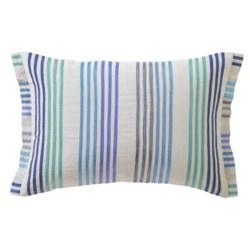 """Company C Bungalow Stripe Decor Pillow - 14x20"""", Linen-Cotton"""
