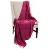 "Company C Karina Baby Alpaca Throw Blanket - Featherweight, 50x70"""