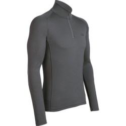 Icebreaker Mondo Zip Neck Base Layer Top - Merino Wool, Lightweight, Long Sleeve (For Men)