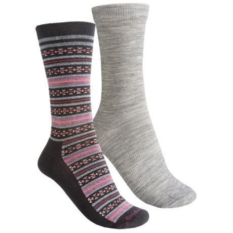 Goodhew Funisle/Skinny Minnie Socks- Crew, 2-Pack (For Women)