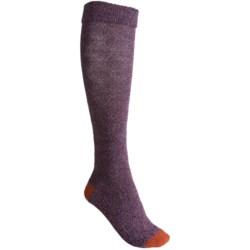 Goodhew Highlander Socks - Merino Wool Blend, Knee High (For Women)