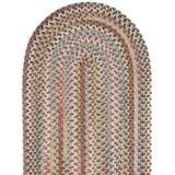 Colonial Mills Millworks Oval Floor Runner - Braided Wool, 2x8'