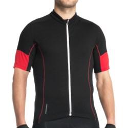 Icebreaker GT Bike Link Jersey - Stretch Merino Wool, Short Sleeve (For Men)