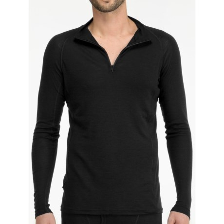 Icebreaker Everyday Base Layer Top - Zip Neck, Long Sleeve (For Men)