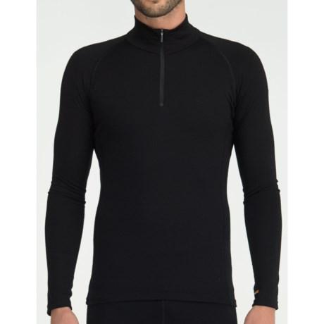 Icebreaker Bodyfit 200 Mondo Base Layer Top - Merino Wool, Zip Neck, Long Sleeve (For Men)