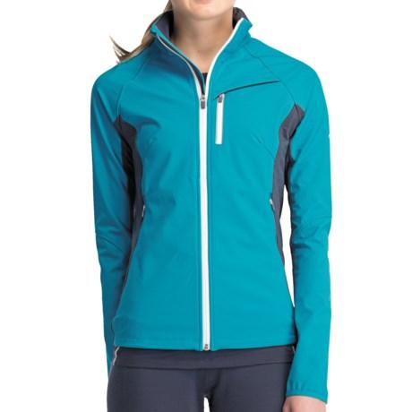 Icebreaker Gust Jacket - UPF 50+, Merino Wool Lining (For Women)