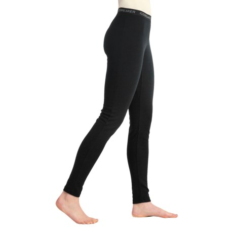 Icebreaker Bodyfit 200 Base Layer Bottoms - UPF 50+, Lightweight, Merino Wool (For Women)