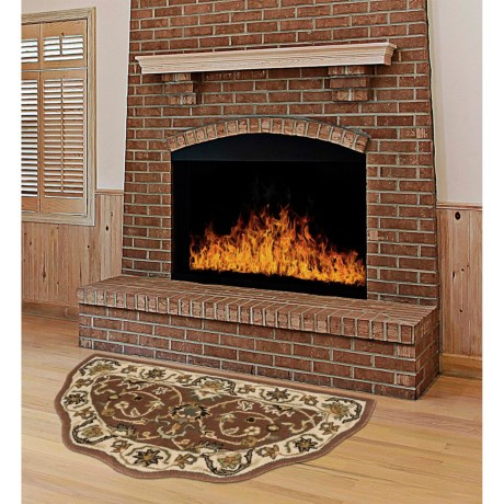 """Kaleen Traditional Scalloped Hearth Rug - 27x48"""""""