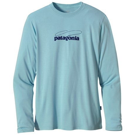 Patagonia Graphic Tech Fish T-Shirt - Long Sleeve (For Men)