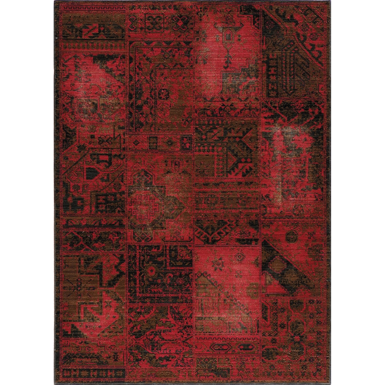 Momeni Vintage Distressed Area Rug New Zealand Wool 5 3