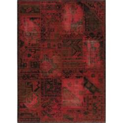 "Momeni Vintage Distressed Area Rug - New Zealand Wool, 5'3""x7'9"""