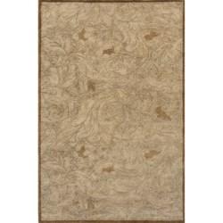 "Momeni Arabesque Handtufted Wool Area Rug - 9'6""x13'6"""