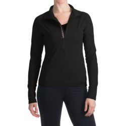 Skea Zumi Shirt - Zip Neck, Long Sleeve (For Women)