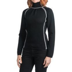 Skea Turtleneck Sweater - Merino Wool (For Women)