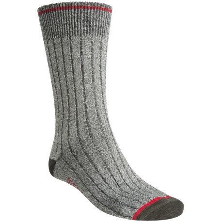 Icebreaker City Ultralite Legacy Crew Socks - Merino Wool (For Men)