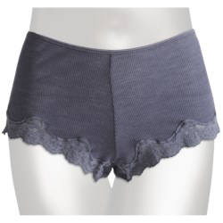 Calida Richesse Panties - Wool-Silk, Boy-Cut Briefs (For Women)