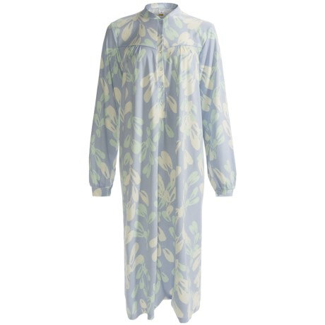 Calida Soft Cotton Nightshirt - Long Sleeve (For Women)