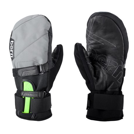 Bern Durden Adjustable Mitten with Wrist Guard (For Men and Women)