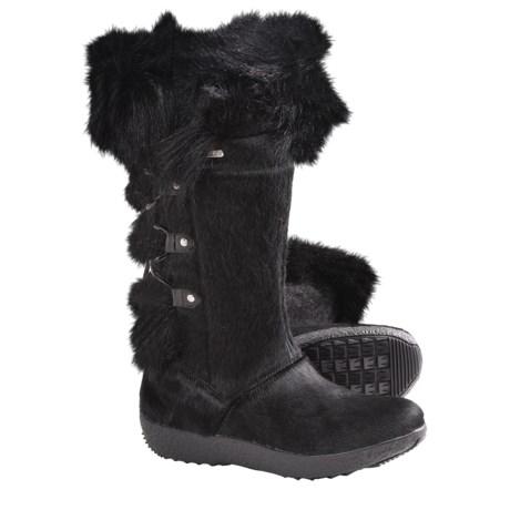 Tecnica Creek III Winter Boots - Genuine Fur (For Women)