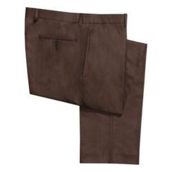 Calvin Klein Solid Gabardine Dress Pants (For Men)